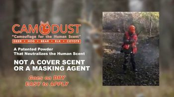 CamoDust TV Spot, 'Camouflauge for the Human Scent' - Thumbnail 4
