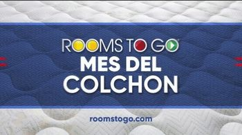 Rooms to Go Mes del Colchón TV Spot, 'Beautyrest, Serta y Therapedic: $577' [Spanish] - Thumbnail 6