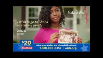 Make-A-Wish Foundation TV Spot, 'What is a Wish'