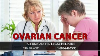 Arnold & Itkin LLP TV Spot, 'Ovarian Cancer Linked to Talcum Powder: Discontinued'