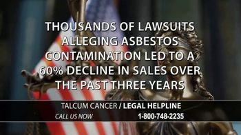 Arnold & Itkin LLP TV Spot, 'Ovarian Cancer Linked to Talcum Powder: Discontinued' - Thumbnail 5