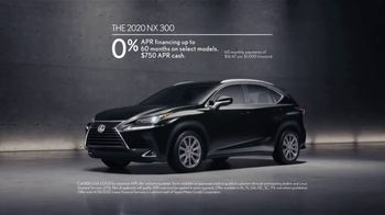 2020 Lexus NX TV Spot, 'Brilliant' [T2] - Thumbnail 8
