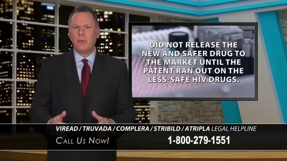South Branch Law Group TV Commercial, 'HIV Medication' - iSpot.tv