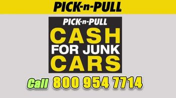 Pick-n-Pull TV Spot, 'Cash for Junk Cars' - Thumbnail 2