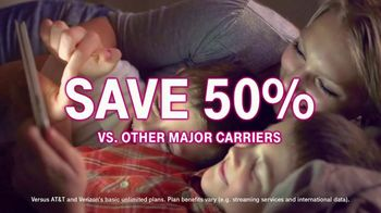 T-Mobile Unlimited 55+ TV Spot, 'Connection for 55+ Customers: $55 for Two Lines' - Thumbnail 6