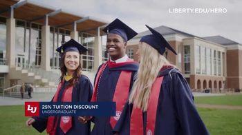 Liberty University TV Spot, 'Heroes: 25 Percent Tuition Discount' - Thumbnail 6