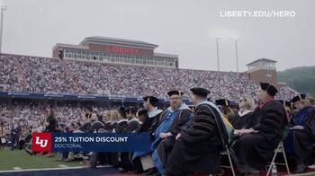 Liberty University TV Spot, 'Heroes: 25 Percent Tuition Discount' - Thumbnail 7