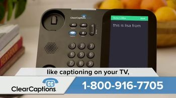 ClearCaptions TV Spot, 'Easy Solution' - Thumbnail 5