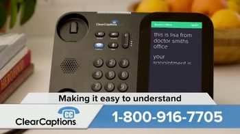 ClearCaptions TV Spot, 'Easy Solution' - Thumbnail 6