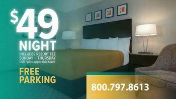 Circus Circus Las Vegas Hotel & Casino TV Spot, 'TV Rate of $49 a Night'
