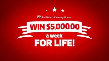 Publishers Clearing House TV Spot, 'It's Happening: $5,000 a Week for Life' - Thumbnail 10