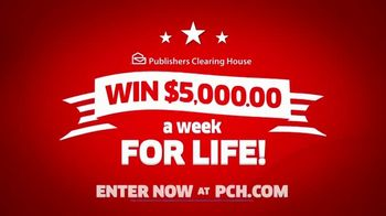 Publishers Clearing House TV Spot, 'It's Happening: $5,000 a Week for Life' - Thumbnail 6