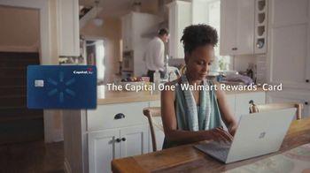 Capital One Walmart Rewards Card TV Spot, 'Science Fair' - Thumbnail 1