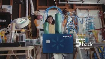 Capital One Walmart Rewards Card TV Spot, 'Science Fair'