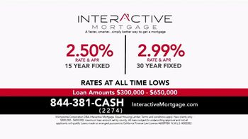 Interactive Mortgage TV Spot, '15 Year Fixed and 30 Year Fixed'