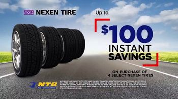 National Tire & Battery TV Spot, 'Nexen: Instant Savings, No Interest and Mobile Tire Installation'