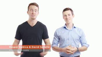 Carpe Antiperspirant TV Spot, 'Up to Three Times Stronger' - Thumbnail 4