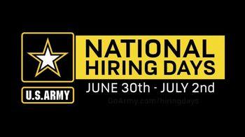 U.S. Army TV Spot, '2020 National Hiring Days: COVID-19' - Thumbnail 7