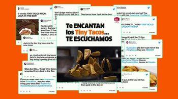 Jack in the Box Tiny Tacos TV Spot, 'Te escuchamos' [Spanish] - Thumbnail 2