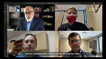 Microsoft Teams TV Spot, 'Los médicos se están comunicando de otra manera' [Spanish]
