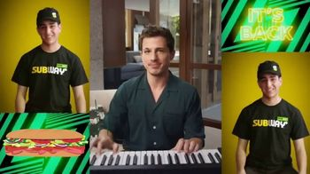 Subway TV Spot, 'Charlie Puth Responds to $5 Footlong Tweet From Tristan' - 3240 commercial airings