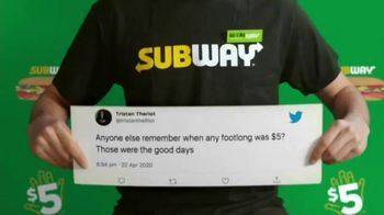 Subway TV Spot, 'Charlie Puth Responds to $5 Footlong Tweet From Tristan' - Thumbnail 1
