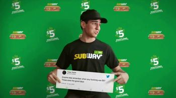 Subway TV Spot, 'Charlie Puth Responds to $5 Footlong Tweet From Tristan' - Thumbnail 3
