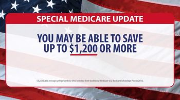 TZ Insurance Solutions TV Spot, 'Special Medicare Update: Save $1,200 or More'