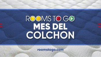 Rooms to Go Mes del Colchón TV Spot, 'Queen Eurotop: $299 dólares' [Spanish] - Thumbnail 6