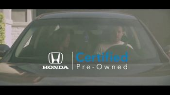 Honda Certified Pre-Owned TV Spot, 'Special Moments' [T2] - Thumbnail 10