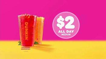 Dunkin' Refreshers TV Spot, 'Get Your Glow Back' - Thumbnail 7