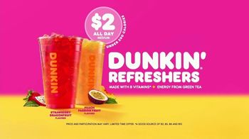 Dunkin' Refreshers TV Spot, 'Get Your Glow Back' - Thumbnail 8