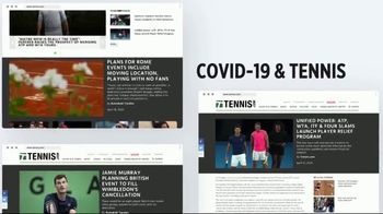 TENNIS.com TV Spot, 'Stay Connected & Baseline' - Thumbnail 5