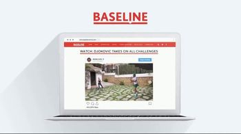 TENNIS.com TV Spot, 'Stay Connected & Baseline' - Thumbnail 9