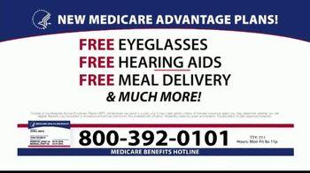 Medicare Benefits Helpline TV Spot, '2020 Medicare Advantage Plans: $0 Co-Pays' - Thumbnail 2