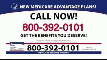 Medicare Benefits Helpline TV Spot, '2020 Medicare Advantage Plans: $0 Co-Pays' - Thumbnail 3