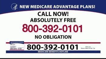 Medicare Benefits Helpline TV Spot, '2020 Medicare Advantage Plans: $0 Co-Pays' - Thumbnail 6