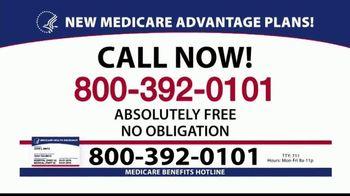 Medicare Benefits Helpline TV Spot, '2020 Medicare Advantage Plans: $0 Co-Pays' - Thumbnail 8