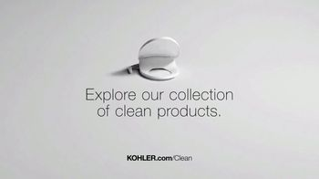 Kohler TV Spot, 'Clean Is in the Little Things' - Thumbnail 10