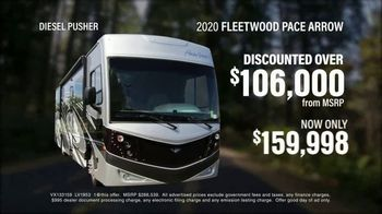 La Mesa RV TV Spot, 'Think: 2020 Fleetwood Pace Arrow' - Thumbnail 4