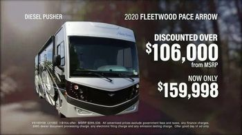 La Mesa RV TV Spot, 'Think: 2020 Fleetwood Pace Arrow' - Thumbnail 5