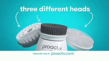 Proactiv TV Spot, 'DR Launch Triple Brush (60s En - E)'