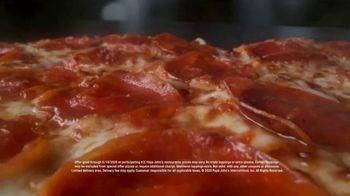 Papa John's Heart-Shaped Pizza TV Spot, 'Delivering Thanks' - Thumbnail 2
