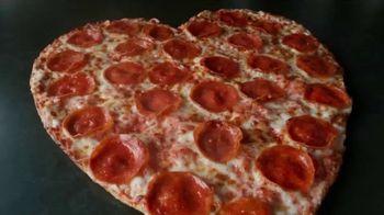 Papa John's Heart-Shaped Pizza TV Spot, 'Delivering Thanks' - Thumbnail 3