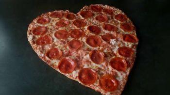 Papa John's Heart-Shaped Pizza TV Spot, 'Delivering Thanks' - Thumbnail 4
