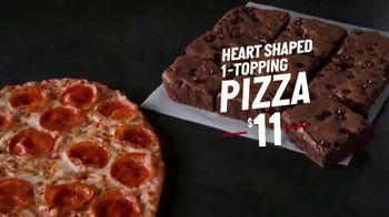 Papa John's Heart-Shaped Pizza TV Spot, 'Delivering Thanks' - Thumbnail 5