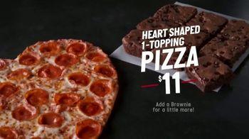 Papa John's Heart-Shaped Pizza TV Spot, 'Delivering Thanks' - Thumbnail 6