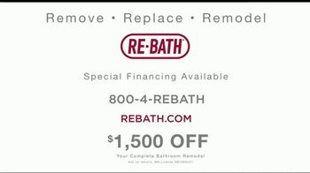 Re-Bath TV Spot, 'Home Is Where the Heart Is: $1500 Off' - Thumbnail 9