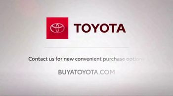 Toyota TV Spot, 'Trust Toyota: Safe and Convenient Purchase Options' Song by Vance Joy [T2] - Thumbnail 6