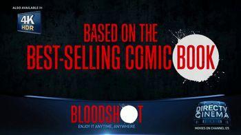 DIRECTV Cinema TV Spot, 'Bloodshot' - 86 commercial airings